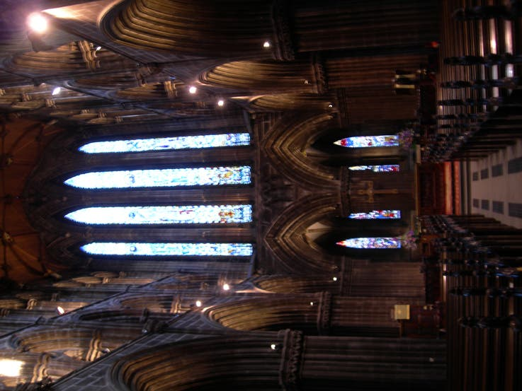 Mueble en Catedral de Glasgow - High Kirk