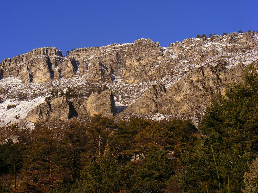 Mountain in Escragnolles