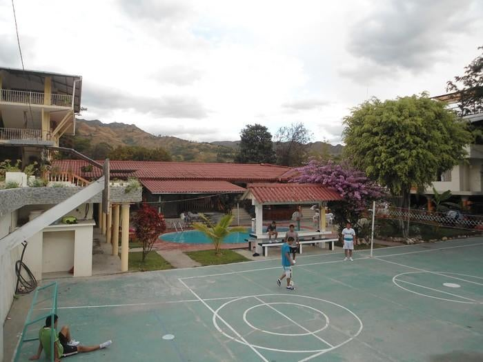 Square in Vilcabamba