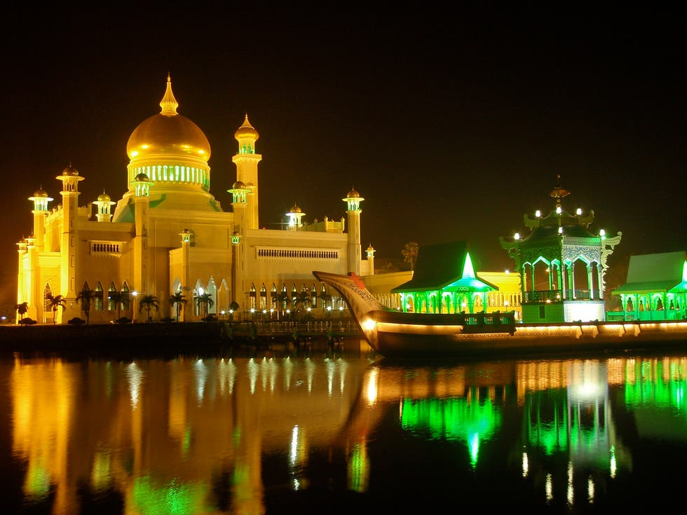 Skyline en Brunei