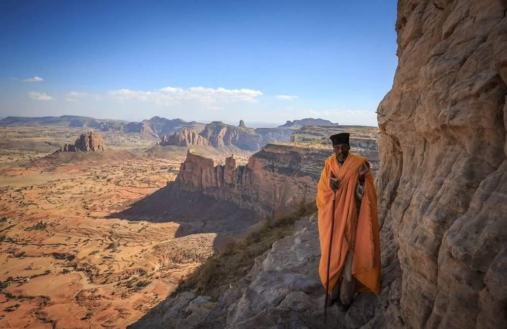 Canyon in Tigray