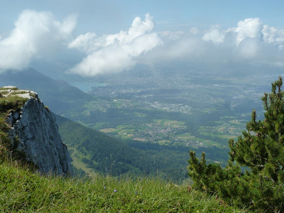 Mountain in Dingy-Saint-Clair