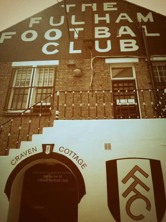 Póster en Craven Cottage