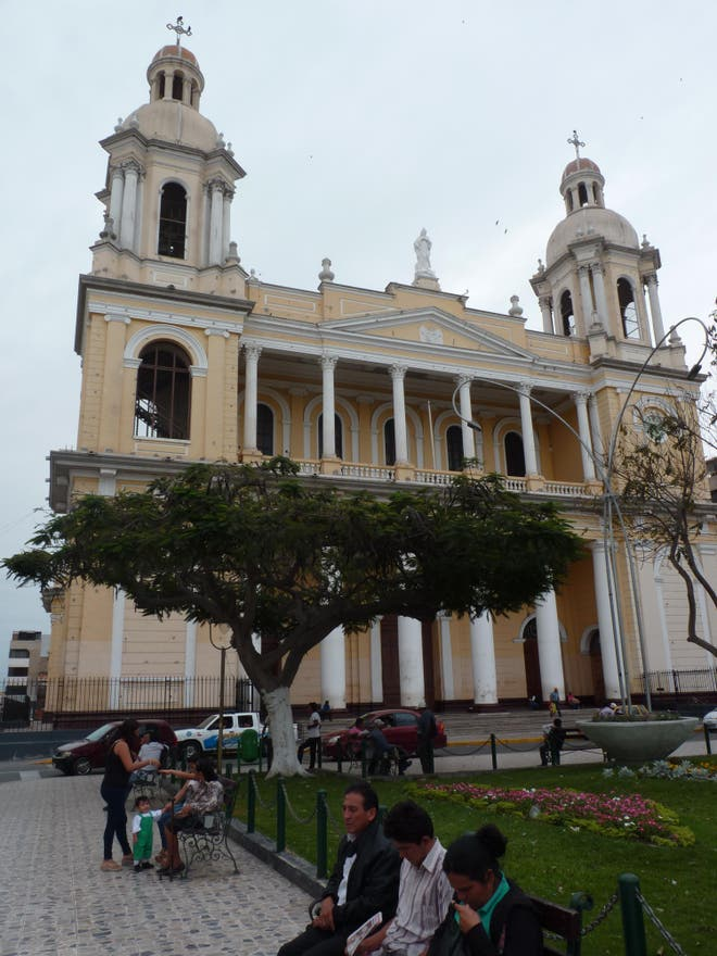 Arquitectura en Catedral Chiclayo