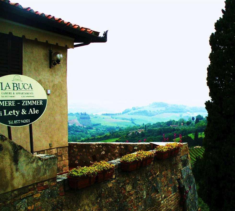 Verde en San Gimignano