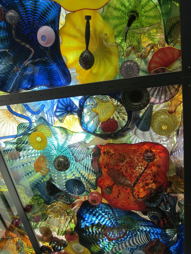 Pintura en Chihuly Garden and Glass