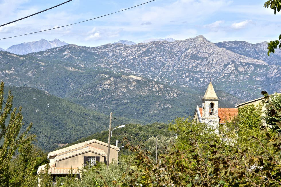 Mountain Range in Carbuccia