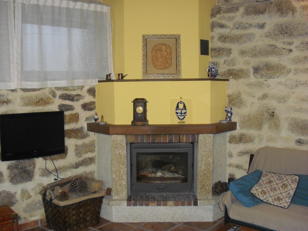Fireplace in Carballedo