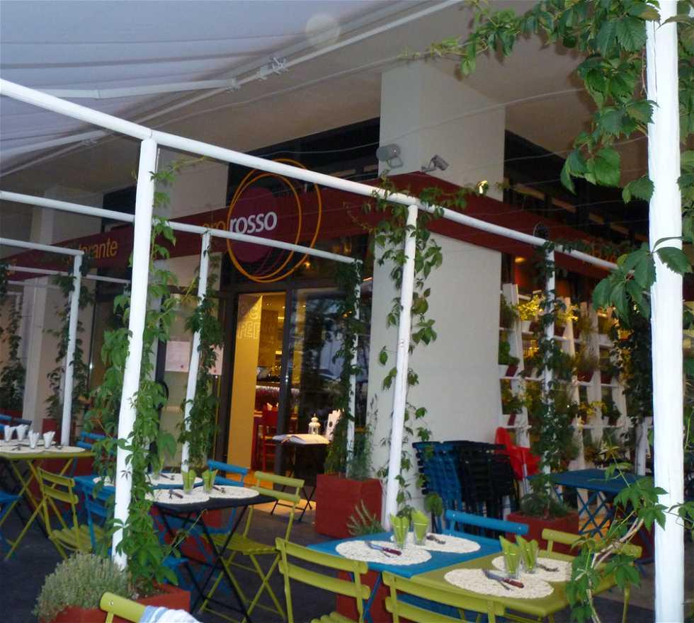 Restaurante en Oro Rosso