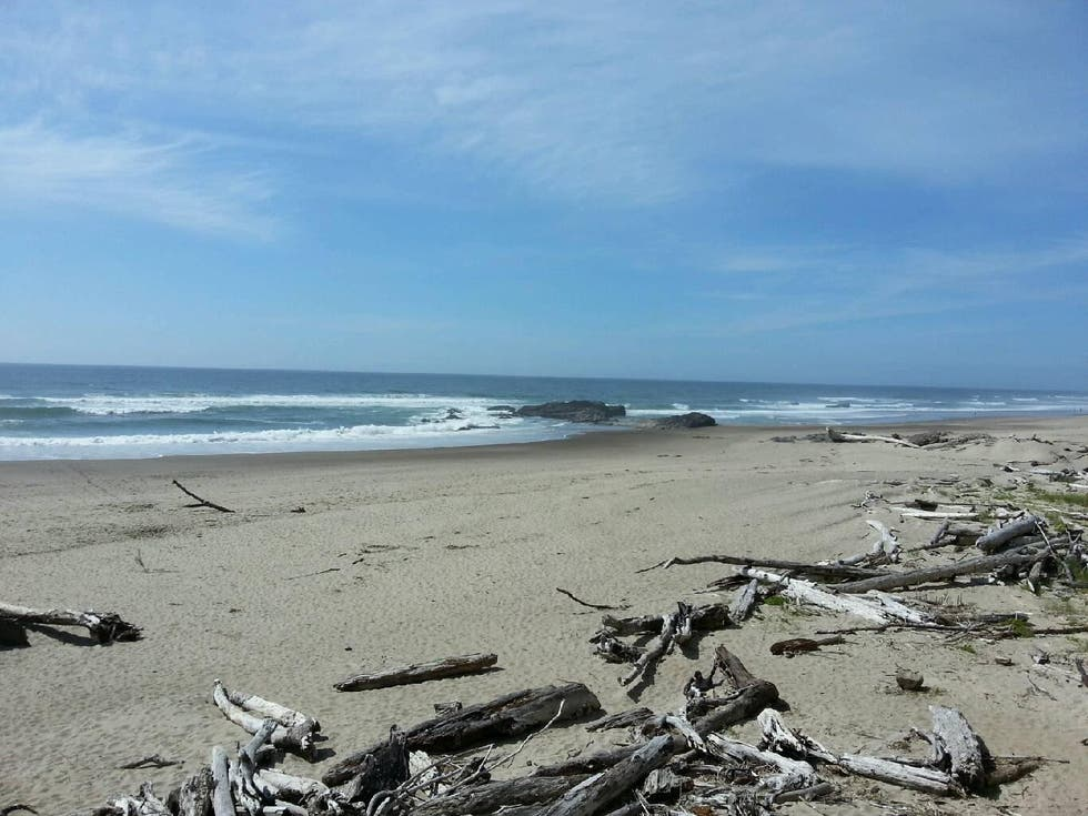 Playa en Lincoln City