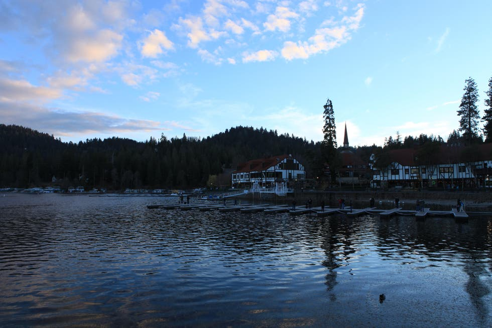 Reflection in Lake Arrowhead
