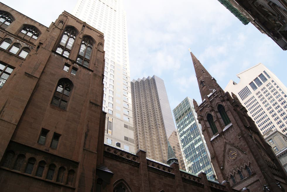 Ciudad en Fifth Avenue Presbiterian Church