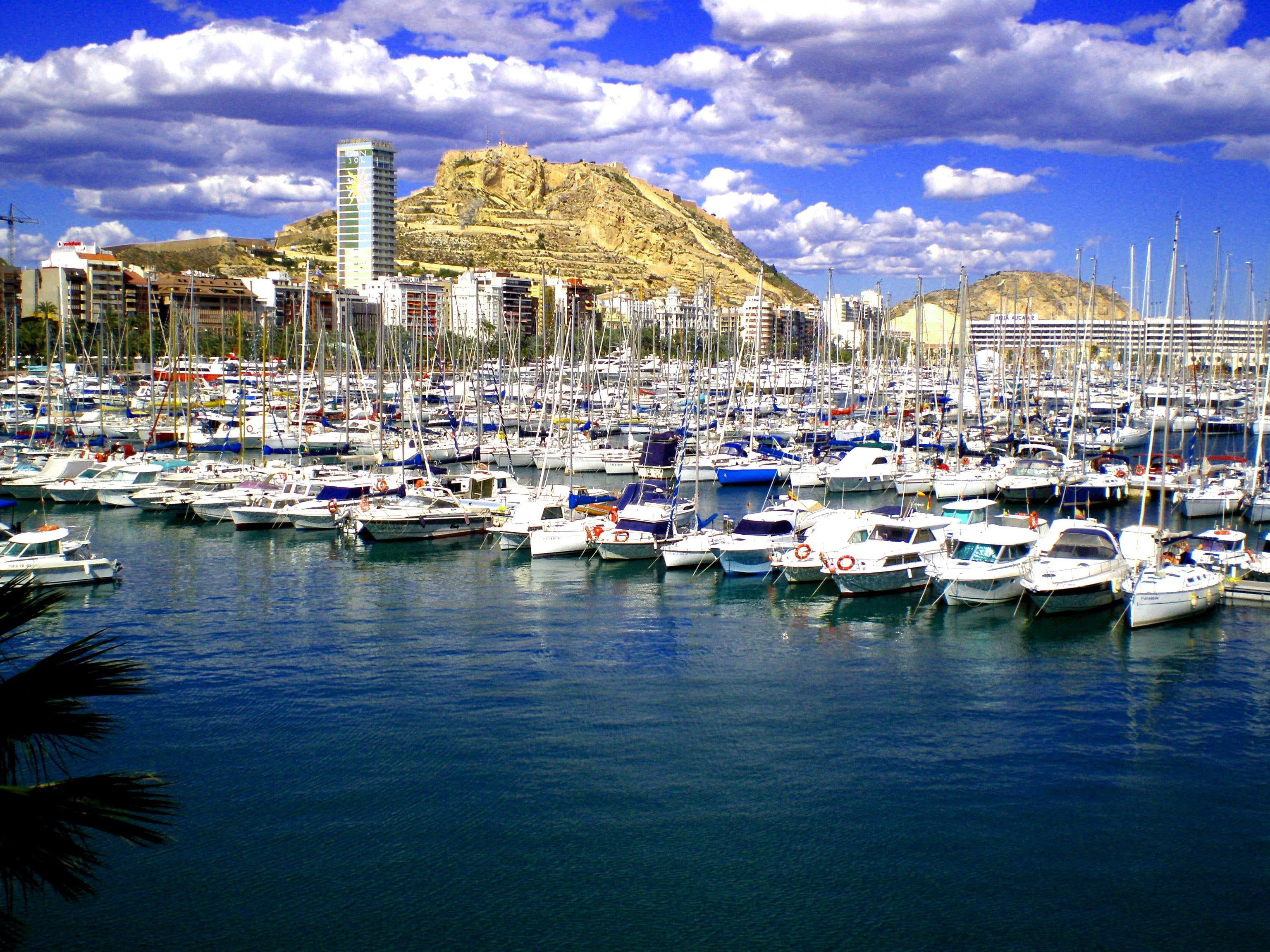 Dock in Port of Alicante