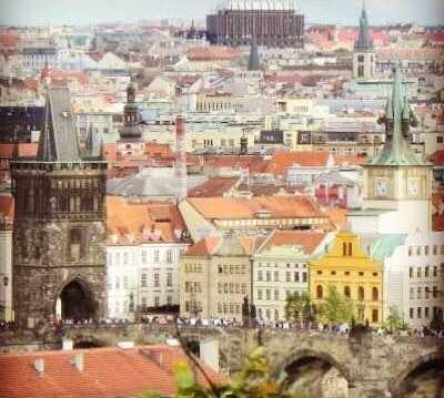 Paisaje urbano en Centro histórico de Praga