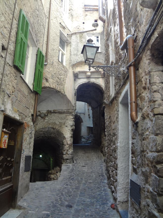 Alley in Apricale