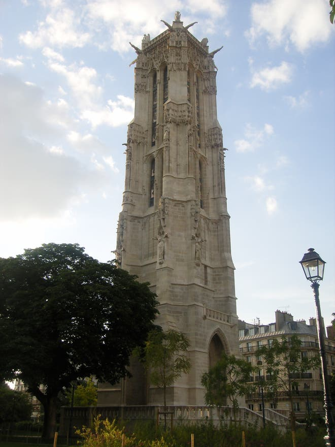 Monumento en Tour Saint-Jacques