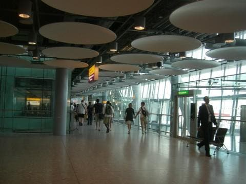 Restaurante en Aeropuerto de Londres - Heathrow