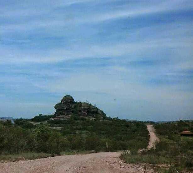 Paisaje en Caçapava do Sul