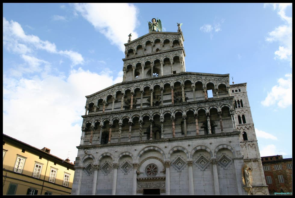 Architecture in Lucca