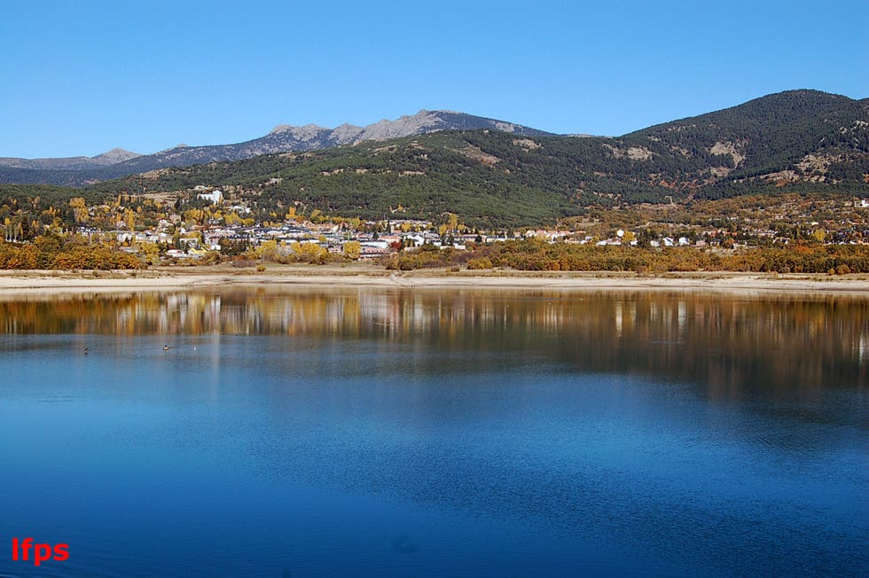 Lake in Navacerrada