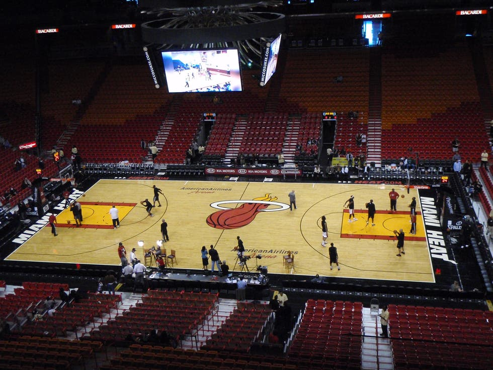 Estadio en American Airlines Arena