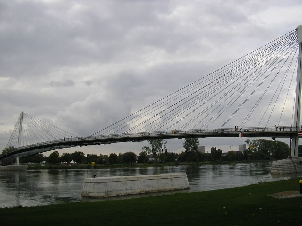 Cable Stayed Bridge in Kehl