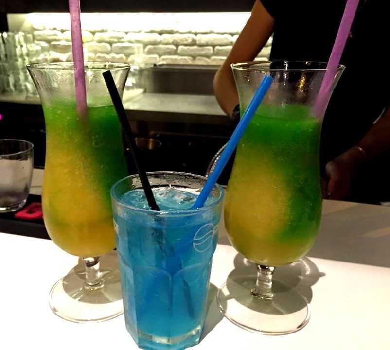 Bebida en Bar Bronx