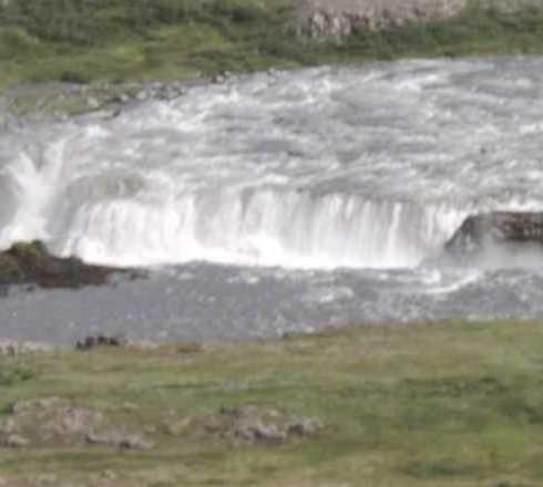Catarata en Cascada Rettarfoss