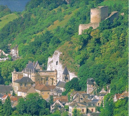 Vilarejo em La Roche-Guyon