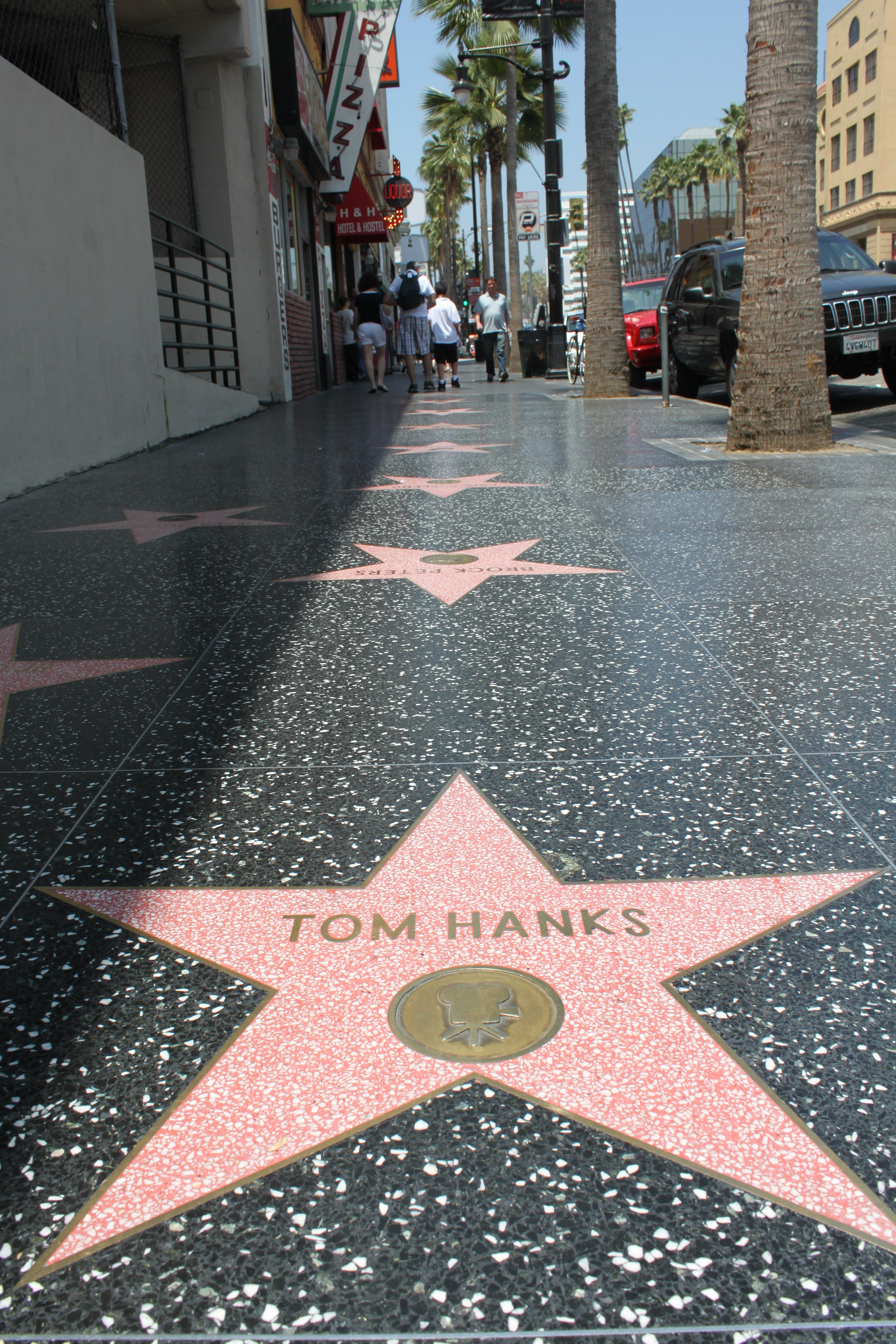 City in Hollywood Walk of Fame