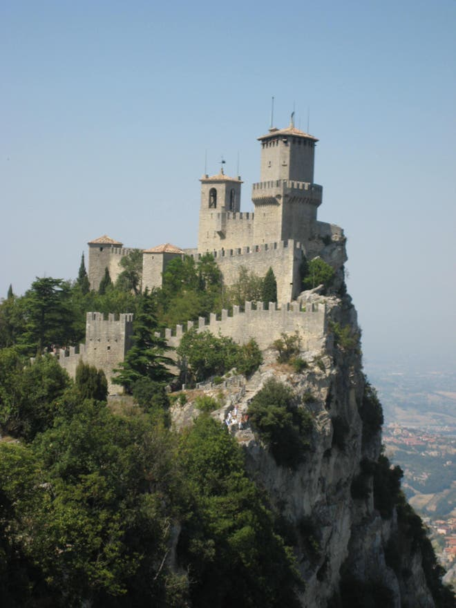 Fortification in San Marino