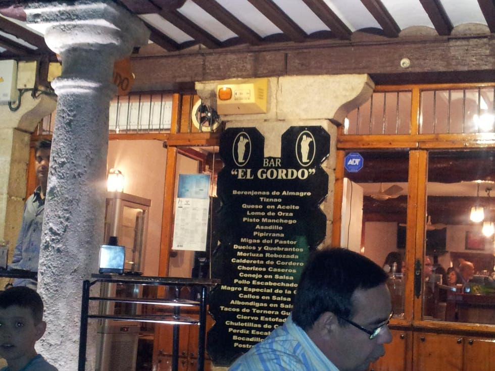 Turismo en Bar El Gordo