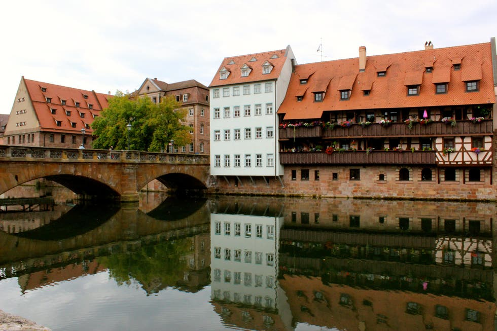 Reflection in Nuremberg