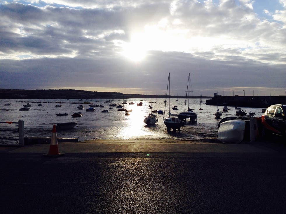 Orilla en Skerries' Harbour