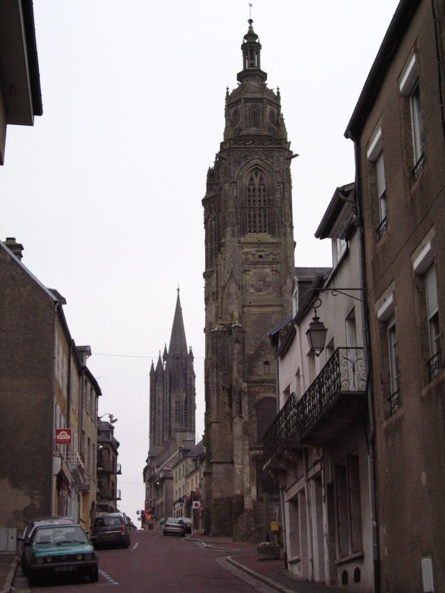 City in Coutances