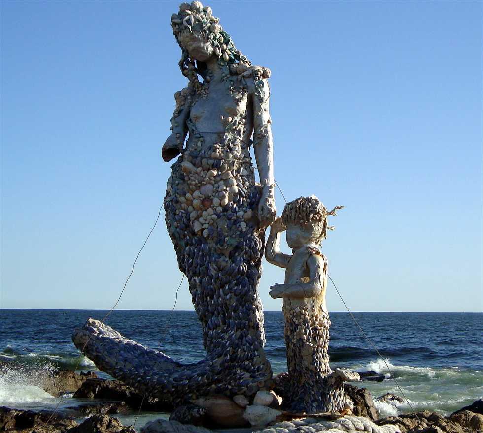 Mar en Sirenitas en las Rocas de la Península