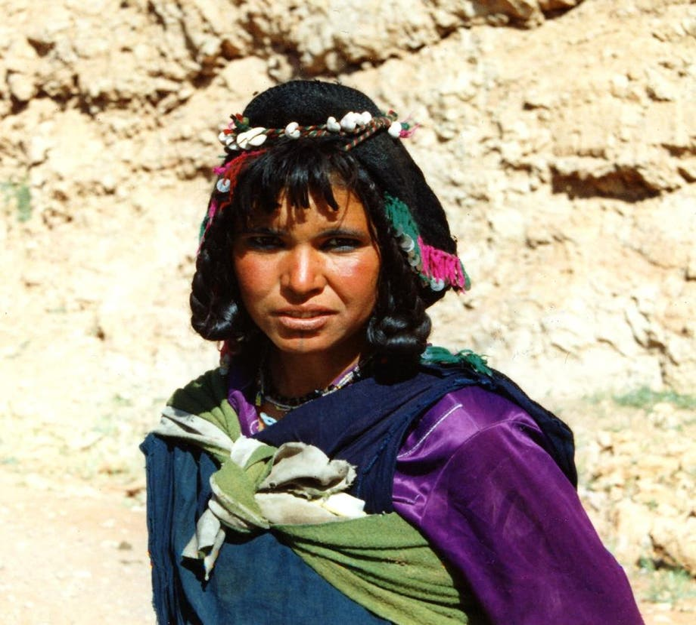 Flor en Morocco's faces