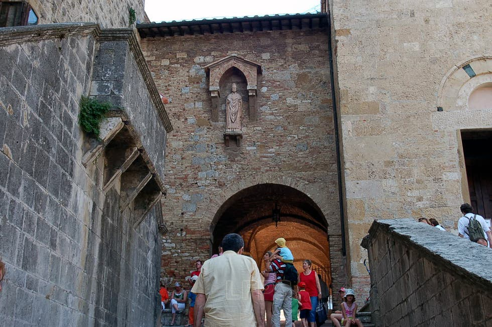 Door in San Gimignano