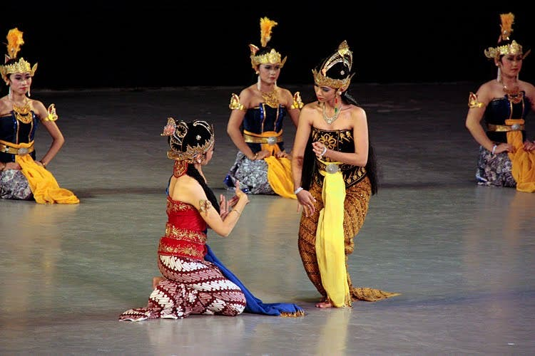 Dance in Central Java