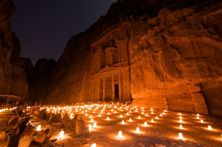 Darkness in Jordan