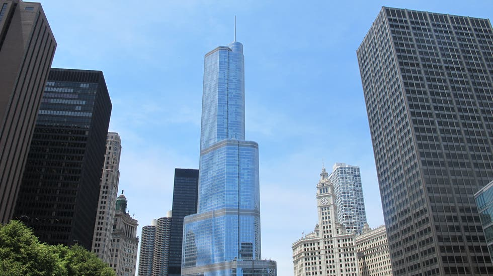 Paesaggio urbano a Trump International Hotel and Tower Chicago