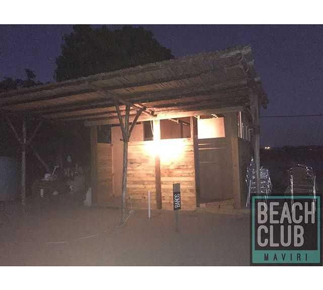 Señal en Maviri Beach Club