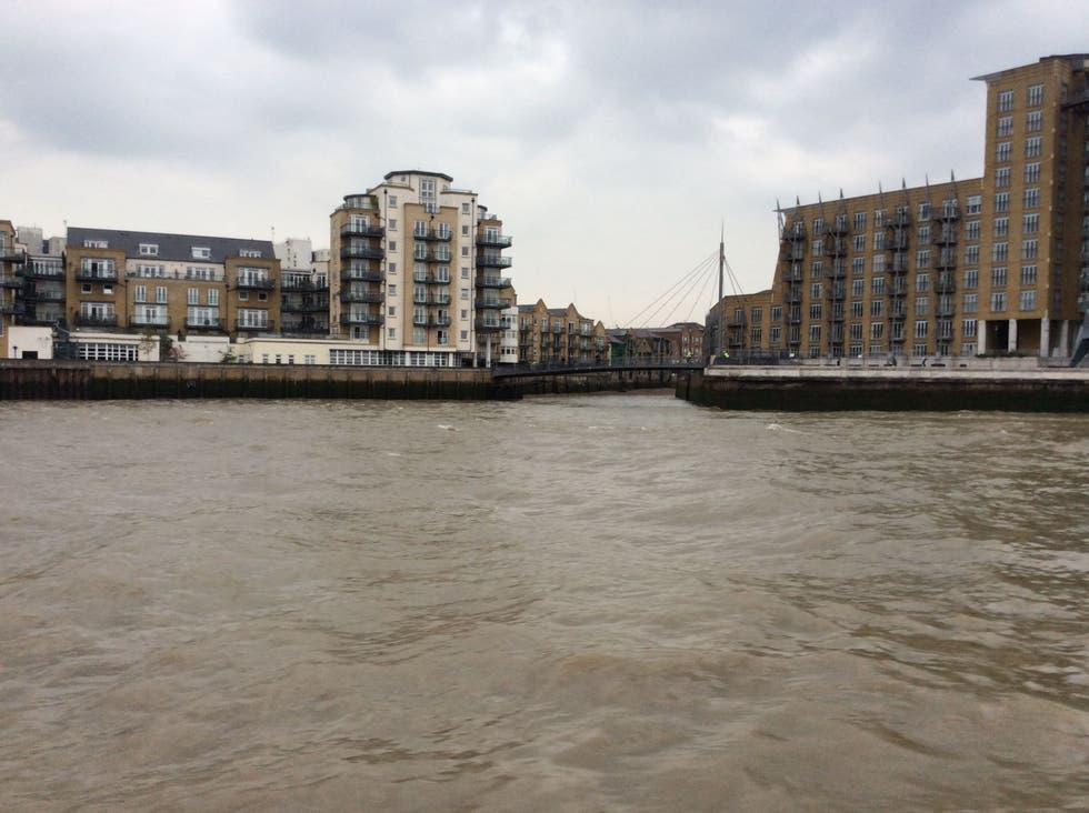 Orilla en limehouse link at Canary Wharf