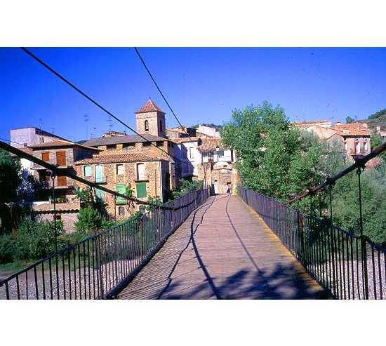 Town in Puente de Montañana