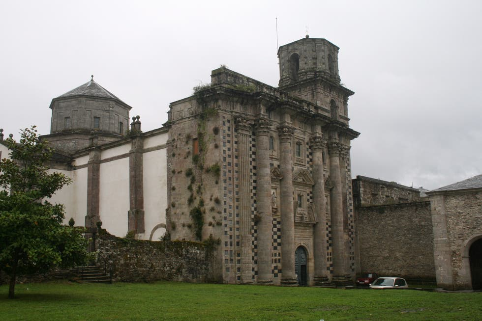 Abbey in Monfero