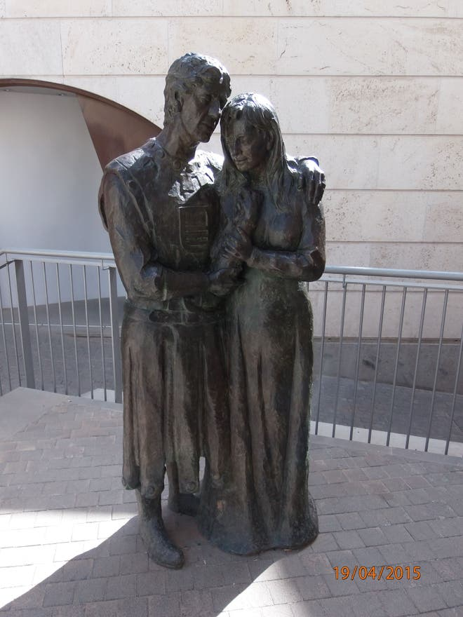 Statue in Teruel