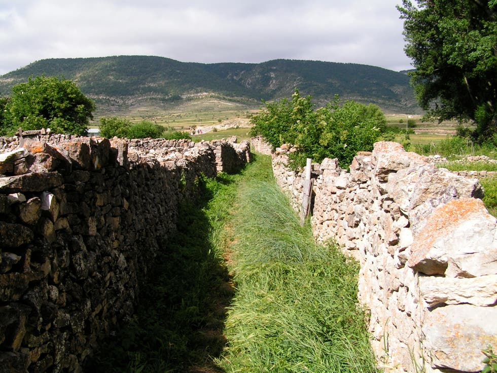 ruins in Fortanete