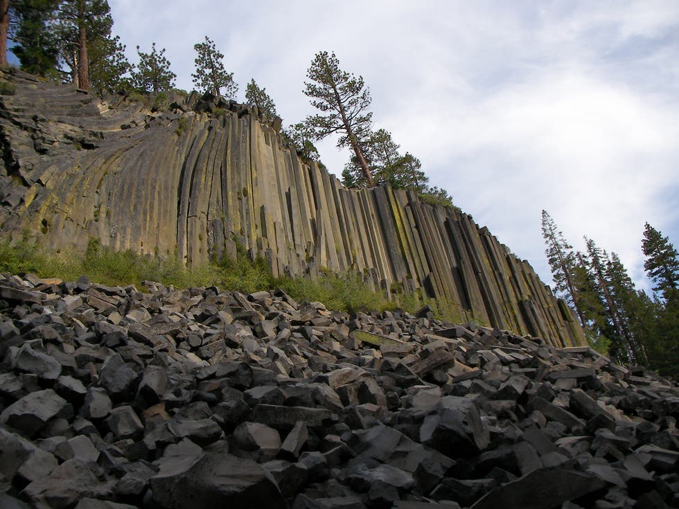 Orilla en Devils Postpile National Monument