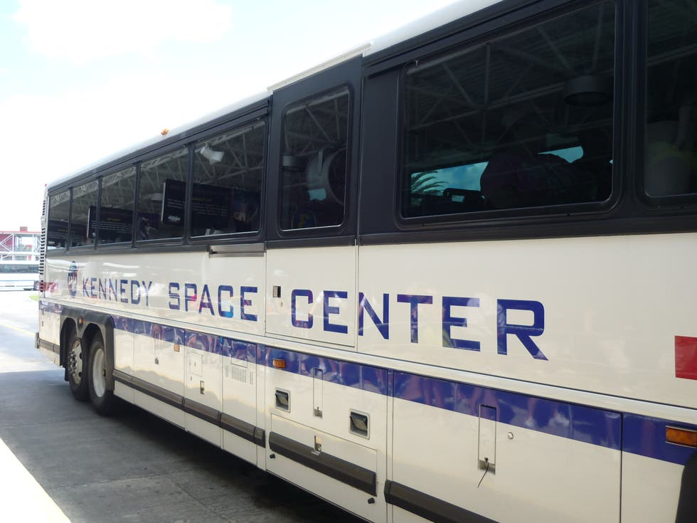 Transporte en Kennedy Space Center Bus Tour