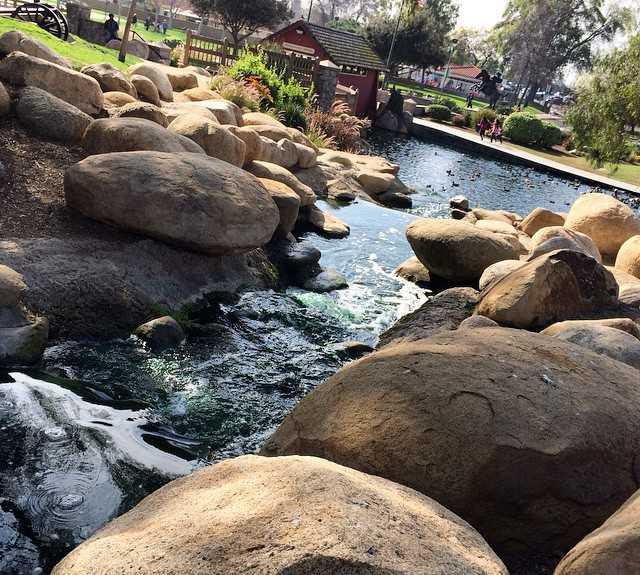 River in Cerritos